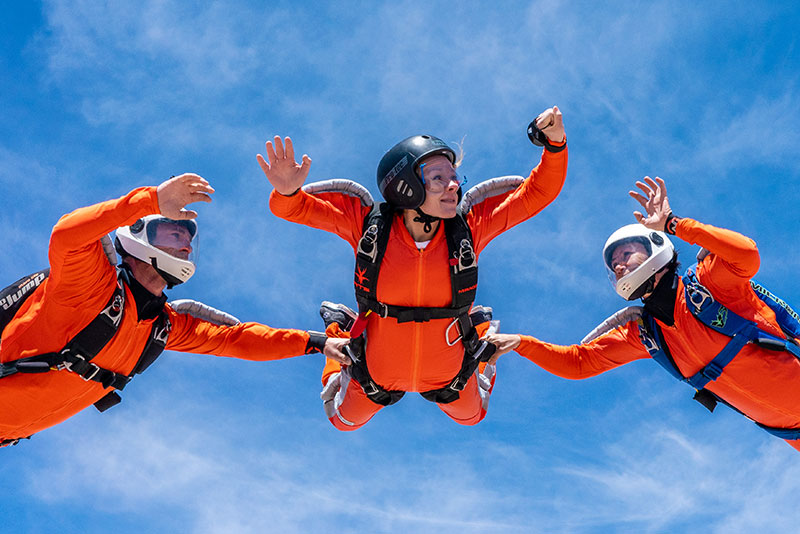 Consider Nevada , bordering California for your AFF skydiving
